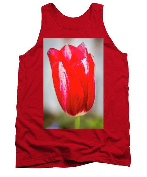 Red Tulip Tank Top