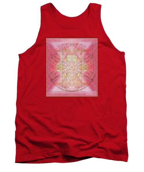 Tank Top featuring the digital art Sacred Symbols Out Of The Void 1b by Christopher Pringer