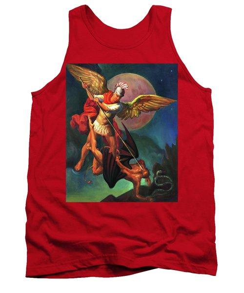 Saint Michael The Warrior Archangel Tank Top