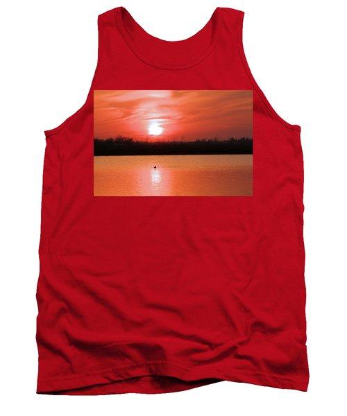 Silky Sunset Tank Top