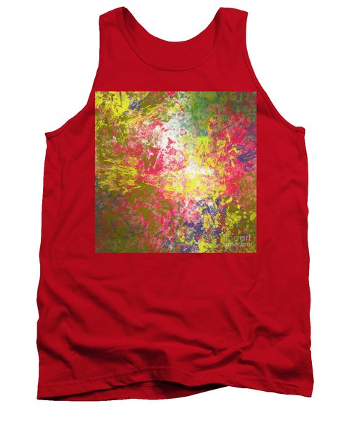 Tank Top featuring the digital art Spring Thoughts by Trilby Cole