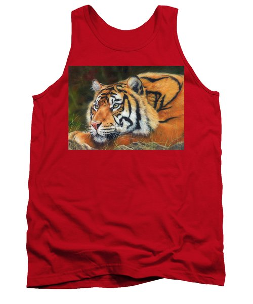 Sumatran Tiger  Tank Top