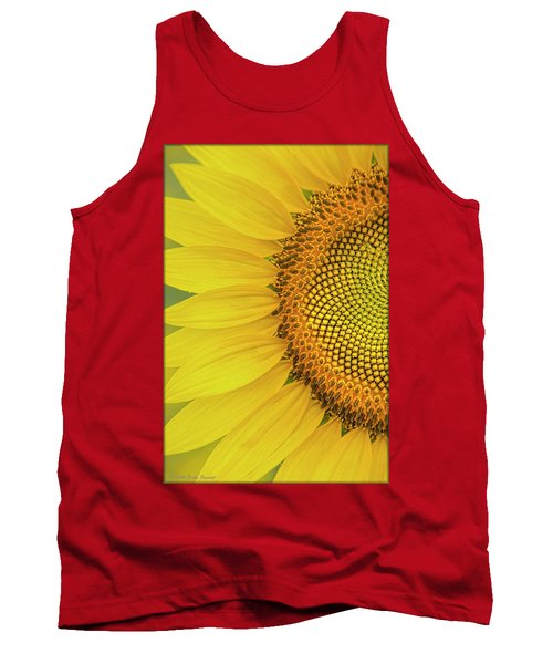 Sunflower Petals Tank Top