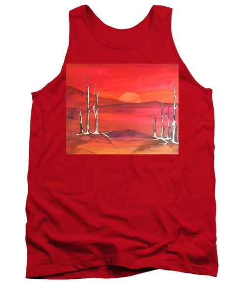 Sunrise Tank Top by Pat Purdy