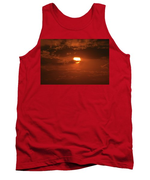 Tank Top featuring the photograph Sunset by Linda Ferreira