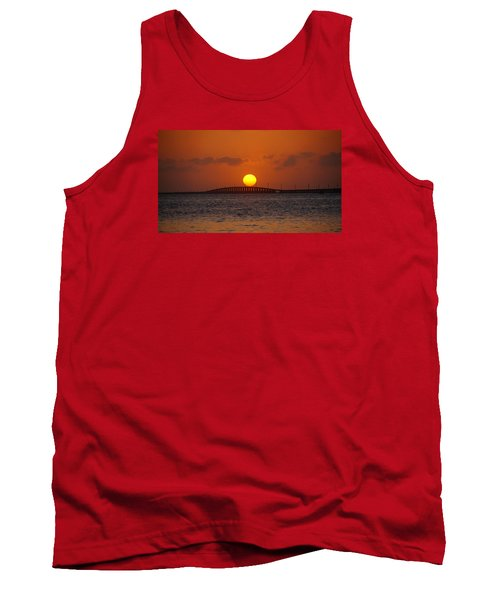 Sunset Seven Mile Bridge Tank Top