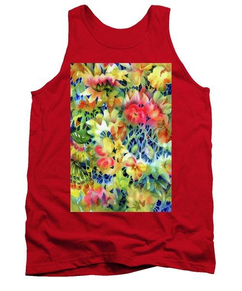 Tangled Blooms Tank Top
