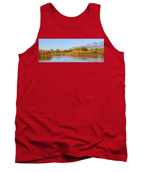 Tank Top featuring the photograph The Bosque by Gina Savage