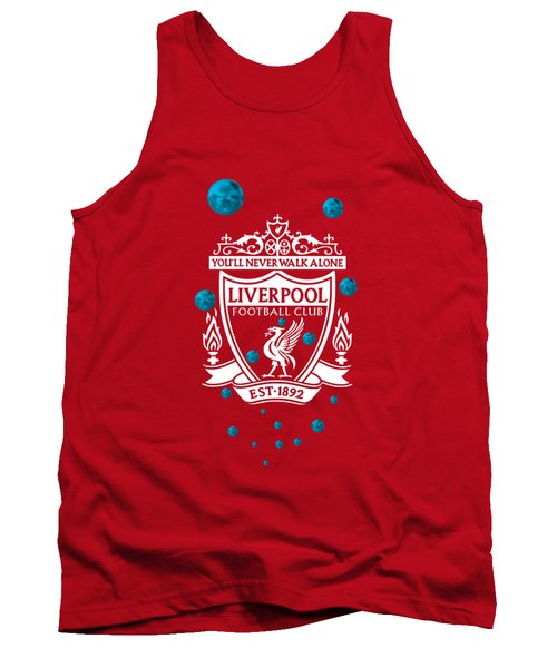 Tank Top featuring the digital art Tribute To Liverpool 4 by Alberto RuiZ
