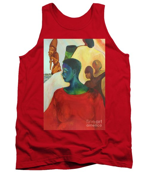 Trickster Tank Top by Daun Soden-Greene