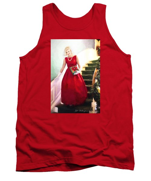 Vintage Val Home For The Holidays Tank Top by Jill Wellington