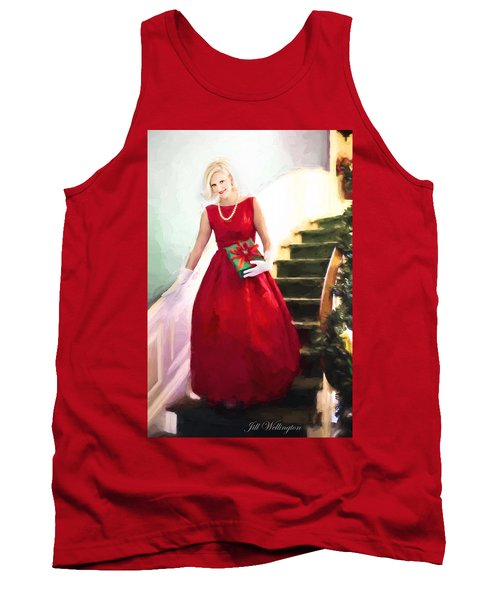 Vintage Val Home For The Holidays Tank Top