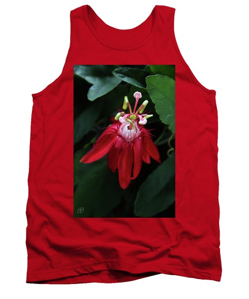Tank Top featuring the photograph With Passion by Geri Glavis