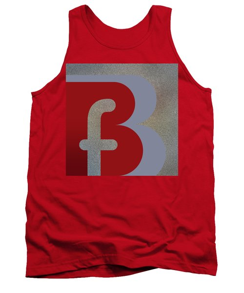 Your Name - B F Or F B Monogram Tank Top