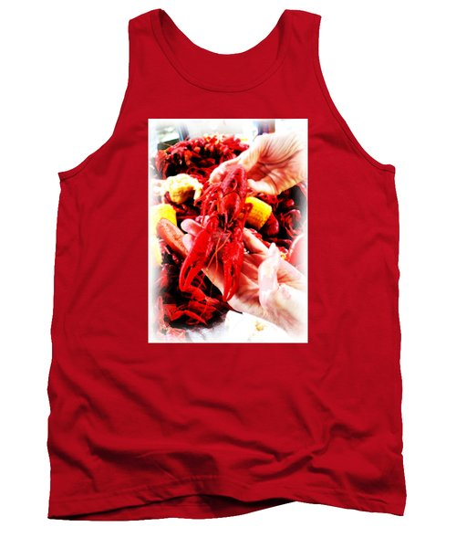 102715 Louisiana Lobster Tank Top