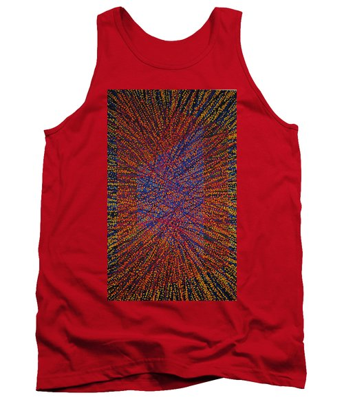 Tank Top featuring the painting Mobius Band by Kyung Hee Hogg