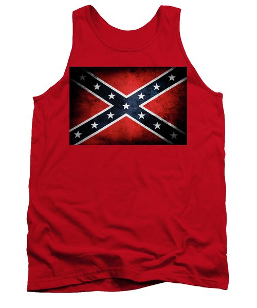 Confederate Flag 13 Tank Top