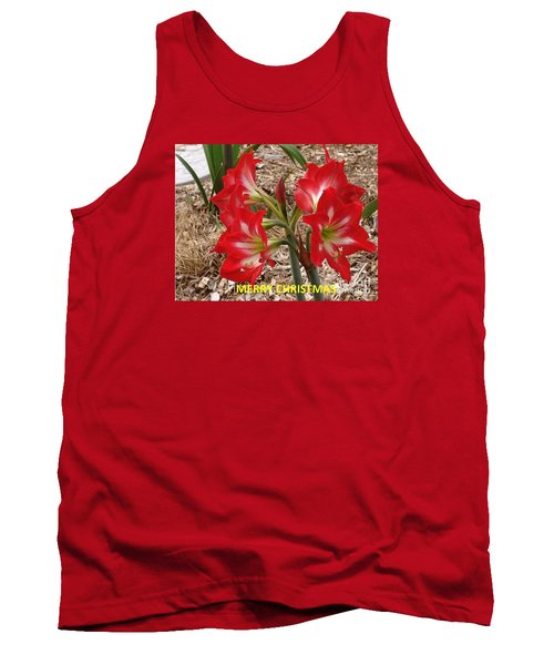 Tank Top featuring the photograph Christmas Card by Rod Ismay