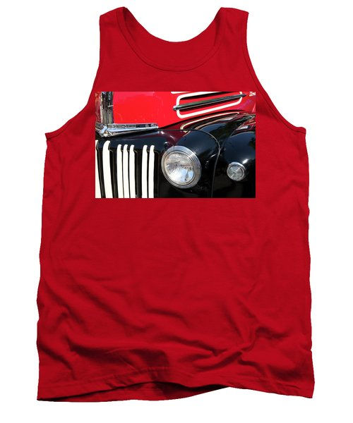 Tank Top featuring the photograph 1947 Vintage Ford Pickup Truck by Theresa Tahara