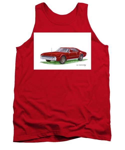 1966 Oldsmobile Toronado Tank Top by Jack Pumphrey