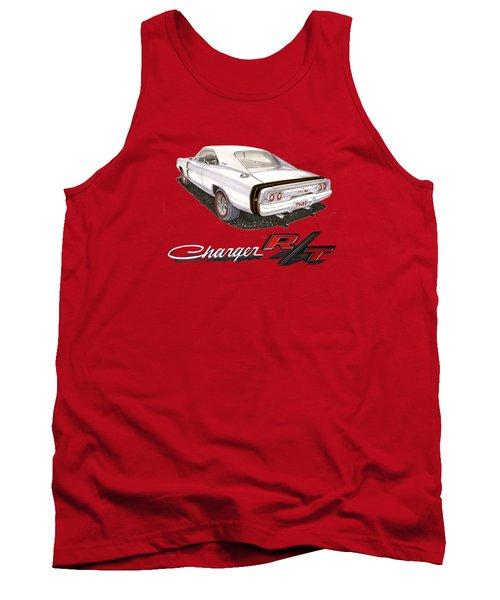 1968 Dodge Charger Tee Shirt Tank Top