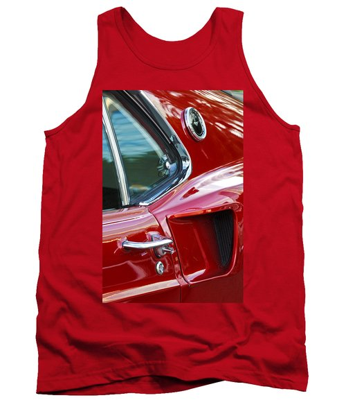 1969 Ford Mustang Mach 1 Side Scoop Tank Top