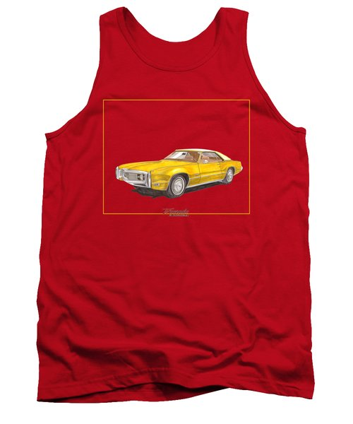 1970 Olds Toronado Terific Tee Shirt Tank Top