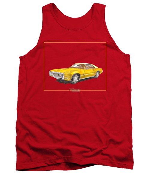 1970 Olds Toronado Terific Tee Shirt Tank Top by Jack Pumphrey