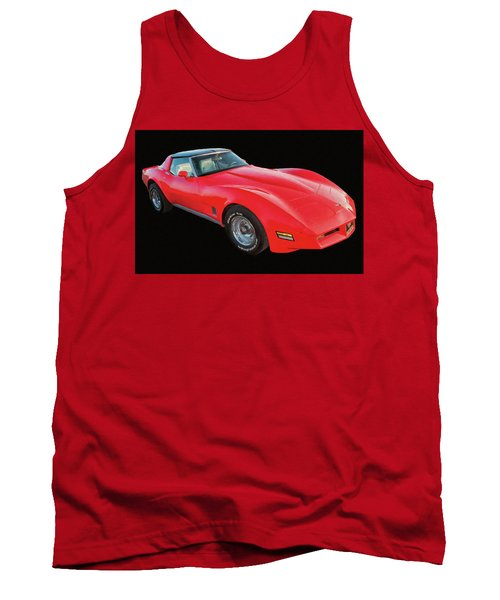 1977 Chevy Corvette T Tops Digital Oil Tank Top