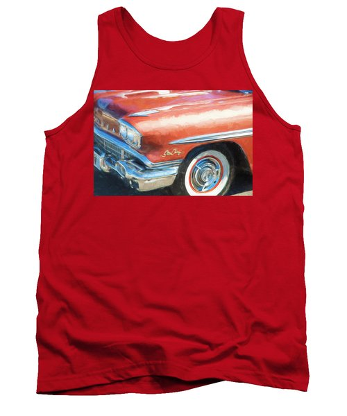 1958 Pontiac Star Chief  Tank Top by Rich Franco