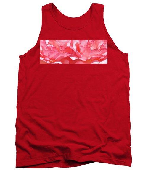 Beautiful Pink Rose Tank Top