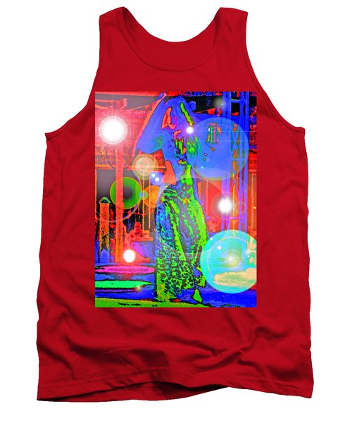Belly Dance Tank Top by Andy Za