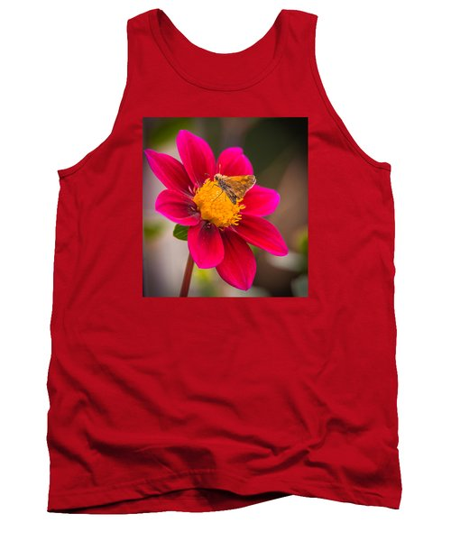 Tank Top featuring the photograph Butterfly by Jerry Cahill