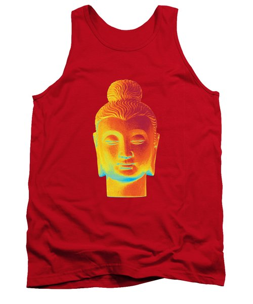 colorful Buddha - Gandhara Tank Top by Terrell Kaucher