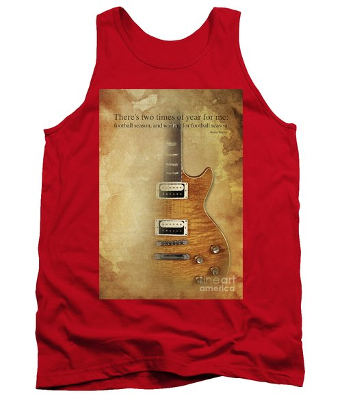 Darius Rucker Inspirational Quote, Electric Guitar Poster For Music Lovers And Musicians Tank Top by Pablo Franchi