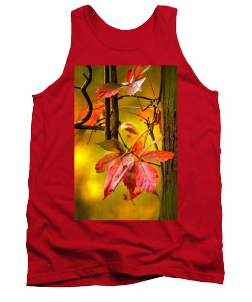 Tank Top featuring the photograph Fall Colors by Eduard Moldoveanu