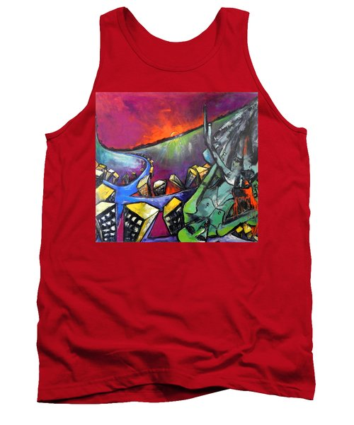 Flight Of Death Tank Top by Kenneth Agnello