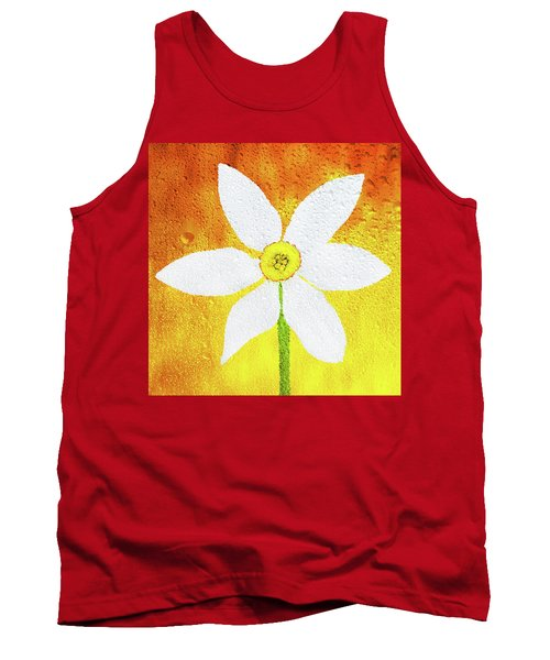 Tank Top featuring the photograph Flower Paradise by Bess Hamiti