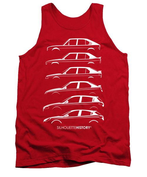Lombard Compact Silhouettehistory Tank Top
