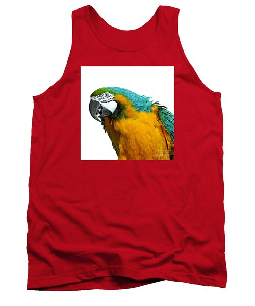 Macaw Bird Tank Top by Gunnar Orn Arnason