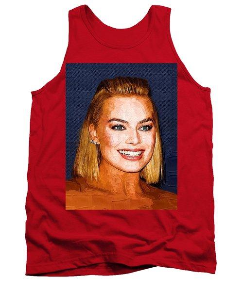 Margot Robbie Art Tank Top