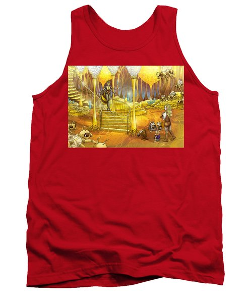 Queen Of The Hive Tank Top