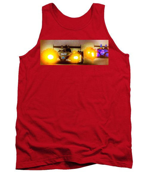 Masters Of Speed Tank Top by Michael Nowotny