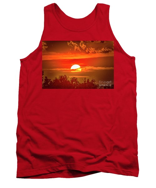 Sunset Tank Top by Pravine Chester