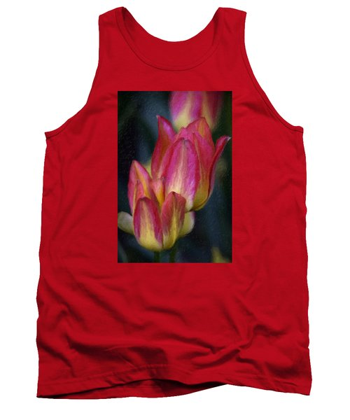 Tulips Tank Top by Andre Faubert