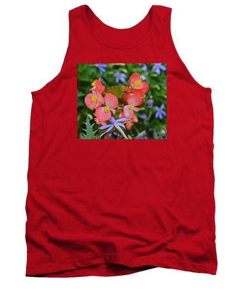 2015 Mid September At The Garden Begonias 2 Tank Top