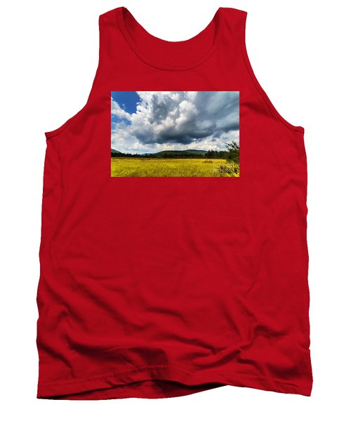 Cranberry Glades Botanical Area Tank Top by Thomas R Fletcher
