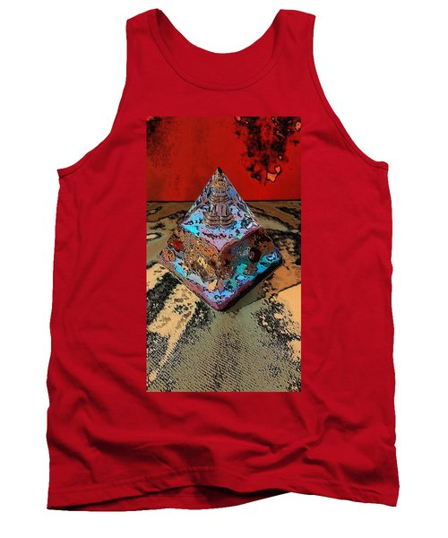 Abstract Orgone Tank Top