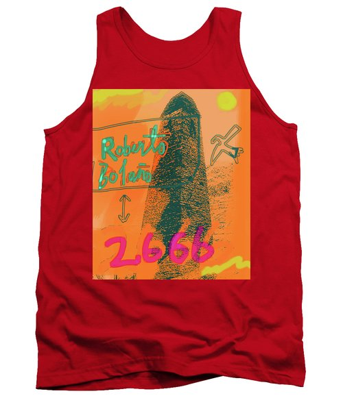 2666 Roberto Bolano  Poster  Tank Top