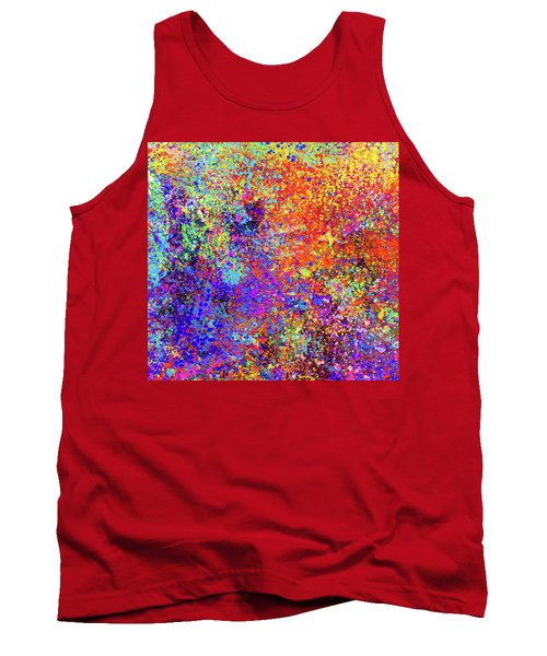 Abstract Composition Tank Top
